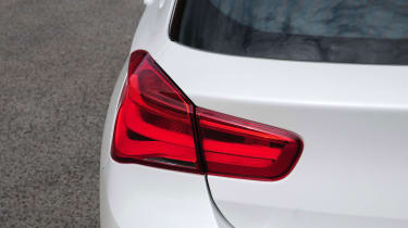 The facelifted 1 Series also has LED rear light clusters for a contemporary look