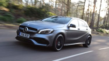 Mercedes-AMG A45 front
