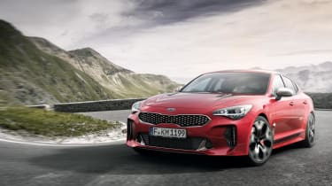A diesel Stinger is also on its way, as is a fully-electric version