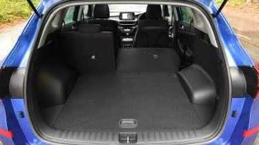 2018 Hyundai Tucson SUV - boot space