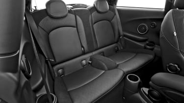 MINI hatchback 2014 rear seats