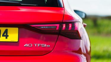 Audi A3 40 TFSI e badge