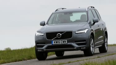 The XC90 offers assured handling, but it's designed mainly for comfort, so the X5 is sportier