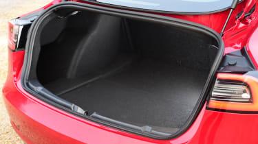 Tesla Model 3 saloon boot