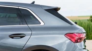 Audi A3 Sportback hatchback rear wheelarch