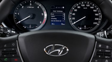 The i20 is quite well-equipped, with the SE specification including DAB radio, cruise control and Bluetooth