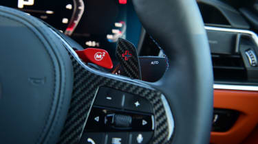BMW M4 Coupe steering wheel