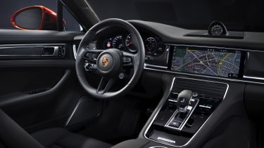 2020 Porsche Panamera Turbo S interior