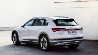 Audi e-tron 50 quattro rear