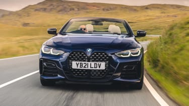 BMW 4 Series Convertible front tracking