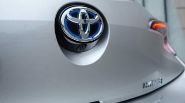Toyota Corolla hatchback rear badge
