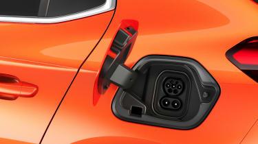 2020 Vauxhall Corsa-e - charging socket