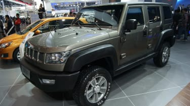 ...and the BAIC X423 does more than hint at the Chinese company's previous relationship with Jeep