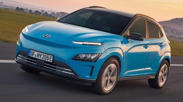 Hyundai Kona Electric driving