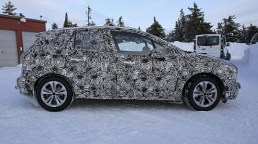 BMW 2 Series Active Tourer prototype - side view, static