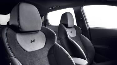 2021 Hyundai Kona N - seats