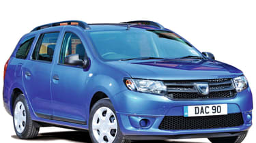 Dacia Logan MCV cutout