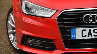 The A1 Sportback has similarly elegant lines to Audi's larger executive cars
