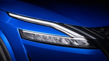 New Nissan Qashqai headlight