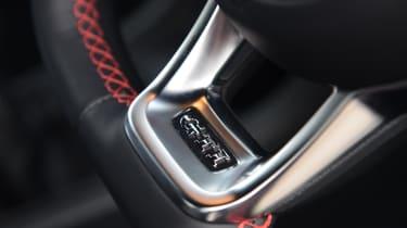 Volkswagen up! GTI hatchback steering wheel