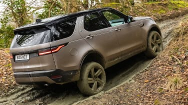 Land Rover Discovery SUV rear off-roading