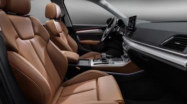 Audi Q5 facelift seats