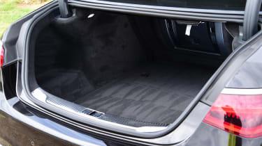 Mercedes S-Class saloon boot