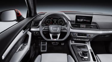 As with other Audis, the new Q5's interior design is very clean and minimalist