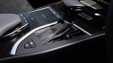 Lexus UX interior gearbox