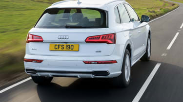 Its sharp lines continue at the rear, where it now boasts LED tail-lights