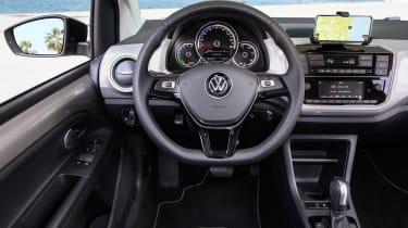 2019 Volkswagen e-up! hatchback - driver's view