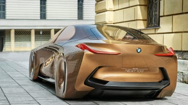 But an all-electric BMW saloon will use advanced aerodynamics for optimised efficiency