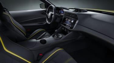 Nissan Z Proto - interior side view