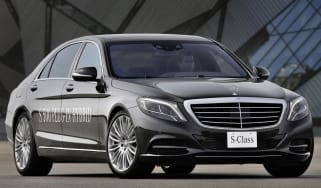 Mercedes S-Class S500 plug-in hybrid 2013 front
