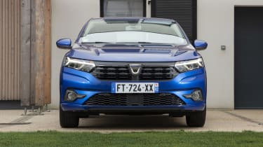 2021 Dacia Sandero - front view