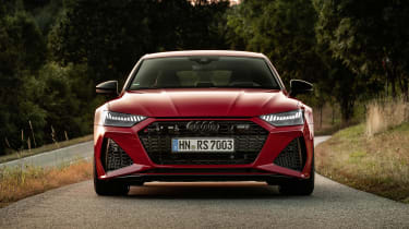 Audi RS7 static - front end