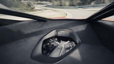 McLaren 765LT - rear cabin view
