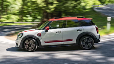 2020 MINI Countryman John Cooper Works cornering - side view