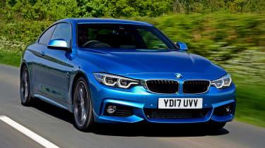 BMW 420d M Sport front