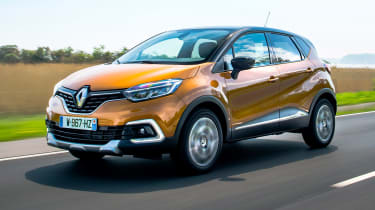 The Captur is one of the best-selling models in the crossover market, with funky looks and competitive pricing.