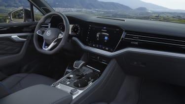 Volkswagen Touareg R interior - side view