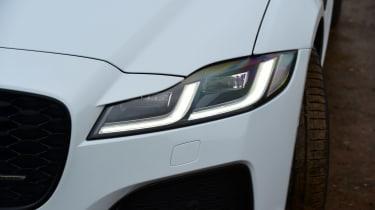 Jaguar XF saloon headlights