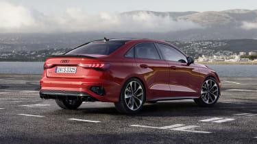 2020 Audi S3 Saloon rear view