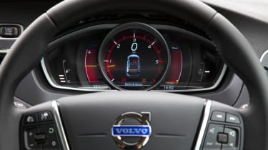 The digital dashboard cluster is easy to read and looks fresh and modern