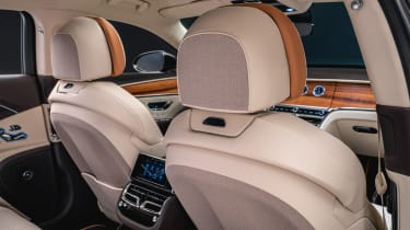 Bentley Flying Spur Odyssean Edition - front seat rear detailing