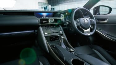 Lexus IS 'I Blue' interior