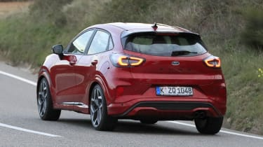 2020 Ford Puma ST - rear 3/4 view