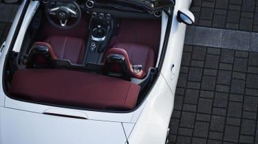 Mazda MX-5 100th Anniversary interior - top view