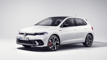 2021 Volkswagen Polo GTI - front 3/4