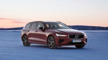 Volvo V60 T8 Twin Engine hybrid front 3/4
